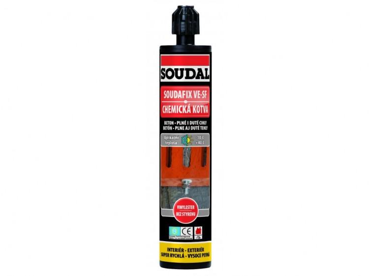 SOUDAL SOUDAFIX VE-SF chemická kotva 280ml (12)