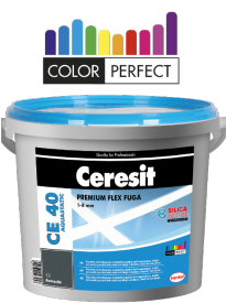 CERESIT CE40 Aquastatic flex.spár.hmota 2kg graphite