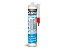 CERESIT CS25 sanitární silikon 280ml silver maltové směsi / omítky