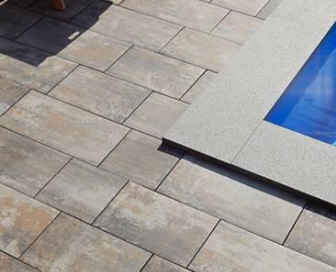BEST BELEZA 6cm dlažba standard bez laku colormix arabica (10,8m2) - betonové výrobky