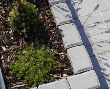 BEST KADENT  80cm palisáda přírodní (30) - betonové výrobky