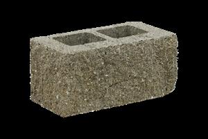 KB-BLOK  9-21 B tvarovka žlutá (60) třístranně štípaná sloupová - betonové výrobky