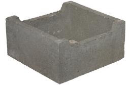 KB-BLOK ZB-40 ztracené bednění 390x190x390mm (42) - betonové výrobky