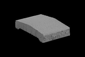 KB-BLOK ps-20 B 200 plotová stříška přírodní (108) - betonové výrobky