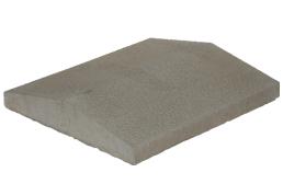 KB-BLOK PS 35 velká plotová stříška přírodní (60) - betonové výrobky