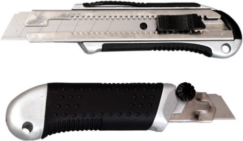 DI nůž 25mm celokovový dvojitá aretace stabilní provedení - stavební nářadí
