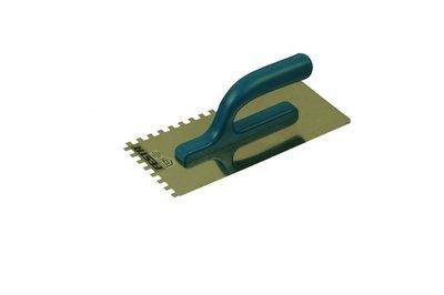 BE hladítko nerez 280x130mm zub  8mm - stavební nářadí