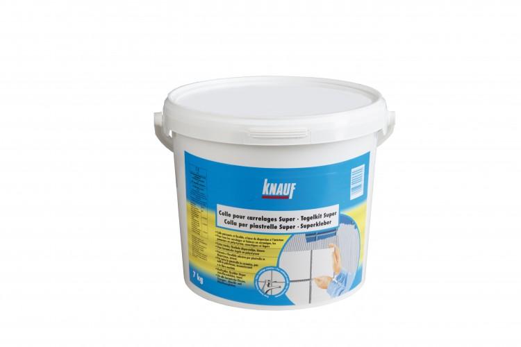 KNAUF SUPERKLEBER disperzní obkladové lepidlo 7kg - sádrokartony / doplňky