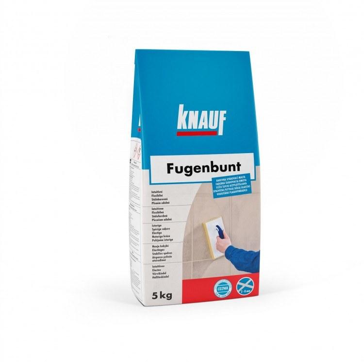 KNAUF FUGENBUNT spárovací hmota 5kg schwarz