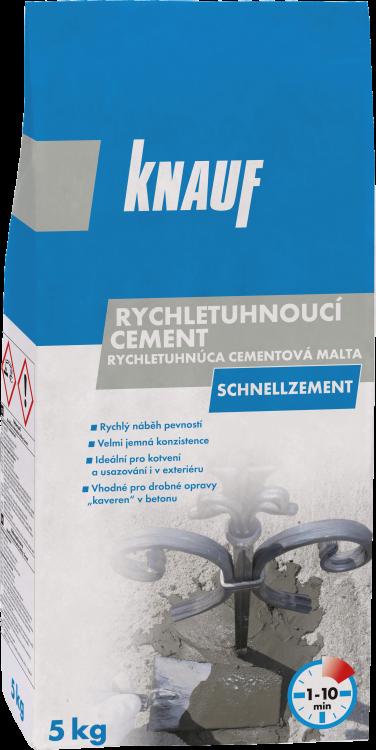 KNAUF SCHNELLZEMENT rychletuhnoucí cement 5kg (100)