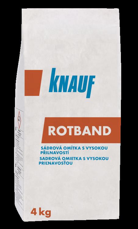 KNAUF ROTBAND omítka sádrová  4kg (100)
