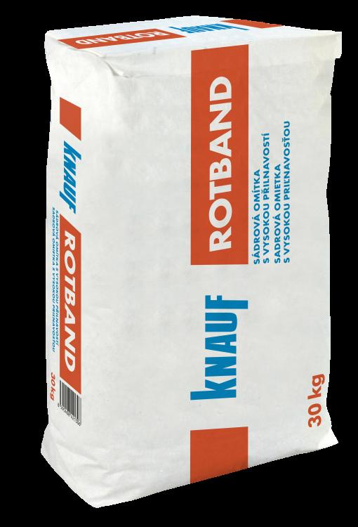 KNAUF ROTBAND omítka sádrová 30kg (35)
