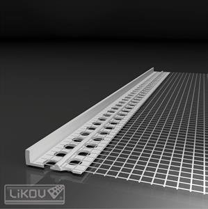 LIKOV LC-L profil ukončovací omítky 3mm / 2m (25) 121.0320