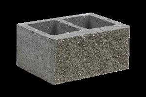 KB-BLOK  1-31 B tvarovka přírodní (40) jednostranně štípaná dělitelná - betonové výrobky