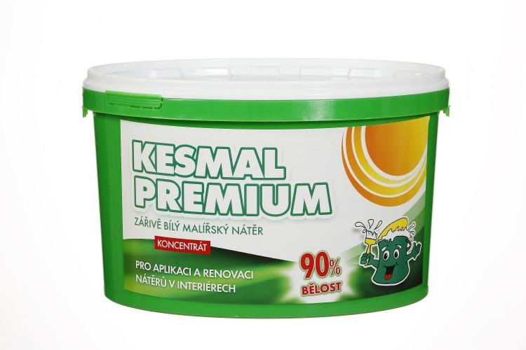 KESMAL Premium mal.nátěr  9,5kg / 160m2 / 90%bělost