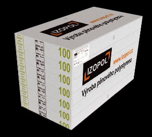 IZOPOL EPS 70F 4cm 1000x500mm fas.polystyren - Fasádní polystyren