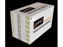 IZOPOL EPS 70F 10cm 1000x500mm fas.polystyren Tepelné izolace - Fasádní polystyren
