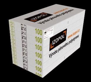 IZOPOL EPS 70F 10cm 1000x500mm fas.polystyren - Fasádní polystyren