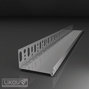 LIKOV profil zakládací LO-P 53/07  50mm / 2,0m s prodlouženou kotevní částí (10) 102.07052