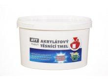 KESSL ATT akrylátový těsnící tmel  1,0kg tmavý kessl