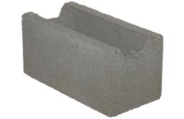 KB-BLOK ZB-20 ztracené bednění 190x190x390mm (72) - betonové výrobky