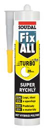 SOUDAL Fix ALL Turbo bílý tmel lepící 290ml (12)