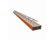 POROTHERM POT 400/902 stropní nosník s výškou 17,5cm zdící materiály