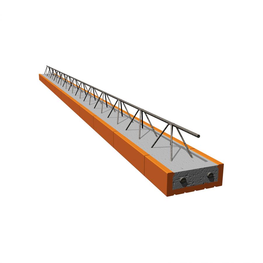 POROTHERM POT 400/902 stropní nosník s výškou 17,5cm
