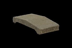 KB-BLOK ps-30 B 200 plotová stříška žlutá (80)  - betonové výrobky