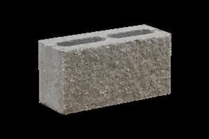 KB-BLOK  7-15 B tvarovka přírodní (72) oboustranně štípaná dělitelná plotová - betonové výrobky