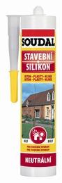 SOUDAL stavební silikon šedý 300ml (12)