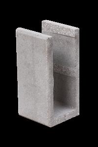 KB-BLOK  1-20 A-U doplňková tvarovka přírodní (60) - betonové výrobky
