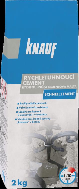 KNAUF SCHNELLZEMENT rychletuhnoucí cement 2kg (280)