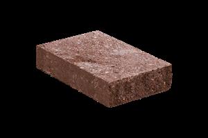 KB-BLOK ps-20 G tl.65mm plotová stříška červená (96) - betonové výrobky