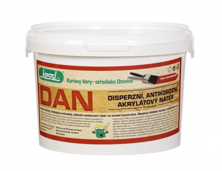 KESSL DAN antikorozní nátěr 3,5kg červený - kessl