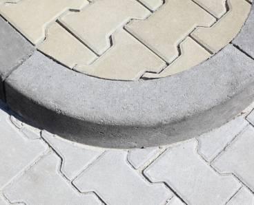 BEST MONO II R0,5 vnější obrubník přírodní (15) - betonové výrobky