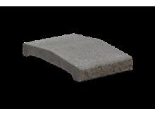 KB-BLOK ps-30 B 250 plotová stříška přírodní (80) betonové výrobky