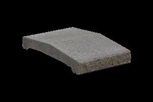 KB-BLOK ps-30 B 250 plotová stříška přírodní (80) - betonové výrobky