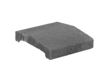 KB-BLOK ps-20 A 250 plotová stříška přírodní (80) staré balení !!! betonové výrobky