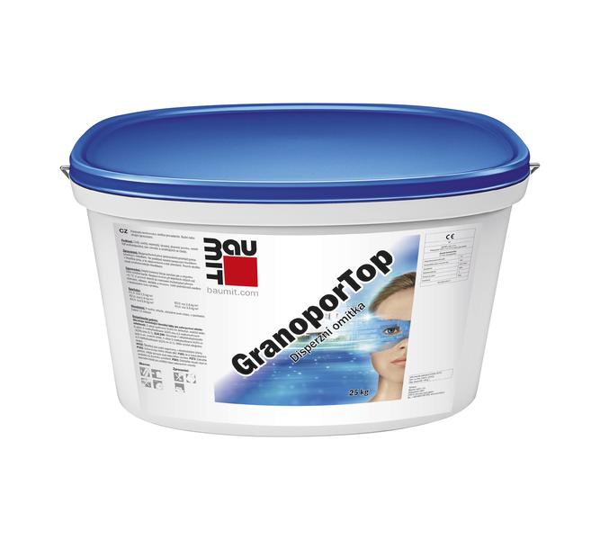 BAUMIT GranoporTop K2,0 30kg B1117 omítka škrábaná 2,0mm - maltové směsi / omítky