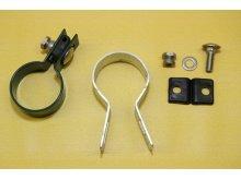 RETIC příchytka panelu na sloup 48mm koncová Zn+PVC6005 zelená pletivo / sloupky / doplňky