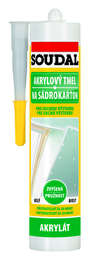 SOUDAL akrylový tmel na sádrokarton 300ml (12)