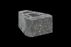 KB-BLOK GEOSTONE miniFLAT štípaný černý (60) - betonové výrobky