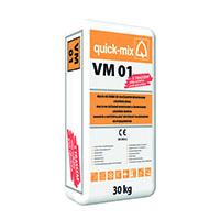 QUICK-MIX VM 01 zdící a spár.malta 30kg šedá (42)