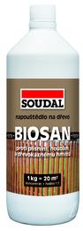 SOUDAL Biosan Forte ochranné napouštědlo zelené 1kg