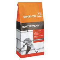 QUICK-MIX BZ rychletuhnoucí cement šedý  1kg (12)