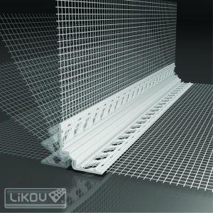 LIKOV dilatace průběžná/rohová LW50 UNI PVC 5 2m s tkaninou (25) 177.20