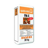 QUICK-MIX FM-X spár.hmota strojní pohl.zdiva a cihl.pásků 30kg šedá (42)