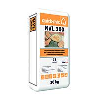 QUICK-MIX NVL 300 zdící pokládací a spár.malta 30kg šedá (42)