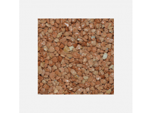 DB mramorové kamínky 25kg cihl.červená 3-6mm pro kamenný koberec stavební chemie
